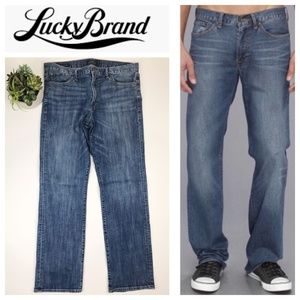 Lucky Brand 361 Vintage Straight Jeans 36x34